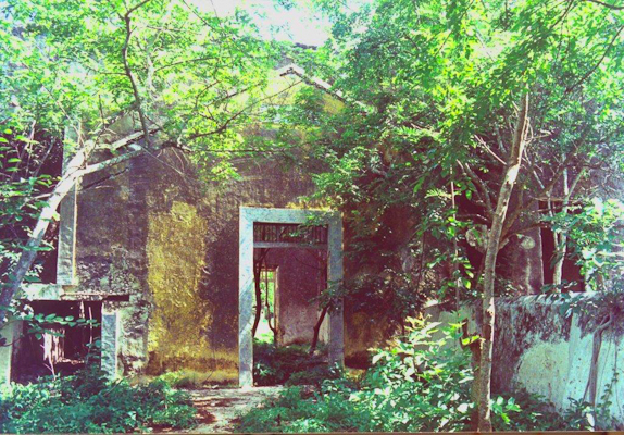 Hacienda Xcanatun in Merida, Yucatan circa 1995