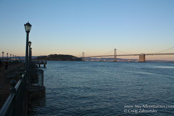 San Francisco Bay from pier 7