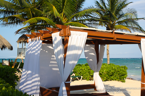 Dreams Resorts Tulum Beach Bed