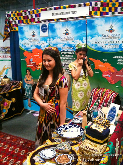 a look at the silk road from the New York Times Travel Show
