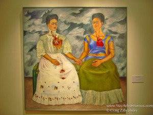frida khala art in the museum of modern art, mexico city, mexico