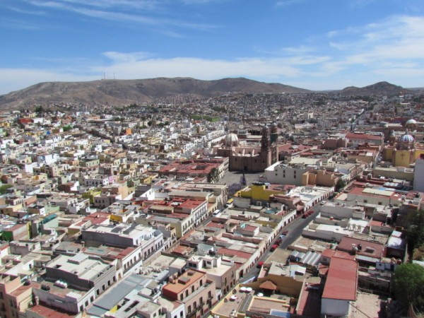 Zacatecas from the Teleferico