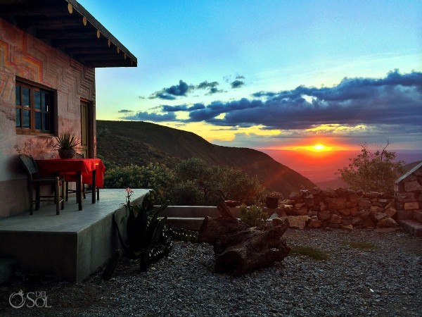 the sunset from Real de Catorce in San Luis Potosi, Mexico (by Del Sol Photography