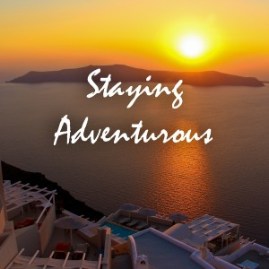 the staying adventurous podcast logo