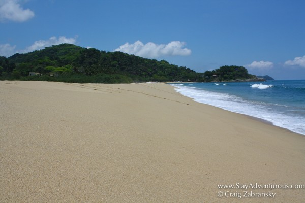 the beach of San Pancho, Riviera Nayarit, Mexico