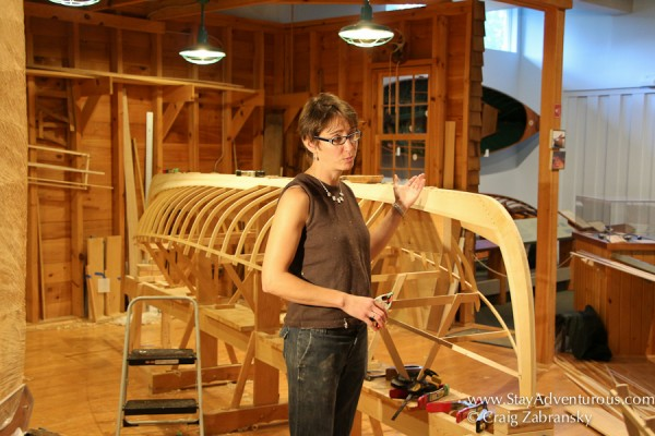Creating a Guide Boat at the Adirondacks Museum
