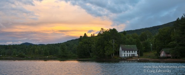 An Adirondack Sunset from Long Lake, New York