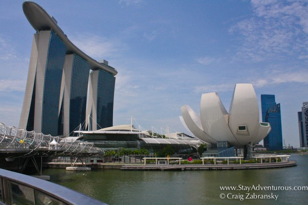 Singapore Skyline with Marina Bay Sands