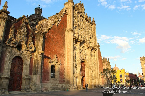 Walking the Zocalo in Mexico City on Stay AdvenTours