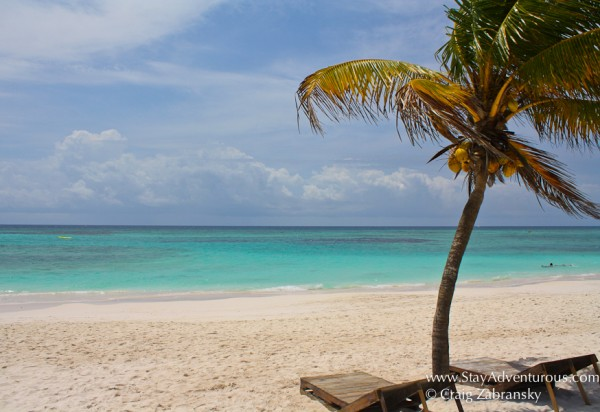 Find Your Beach, the perfect beach for a Conrona Commercial in the Riviera Maya of Mexico