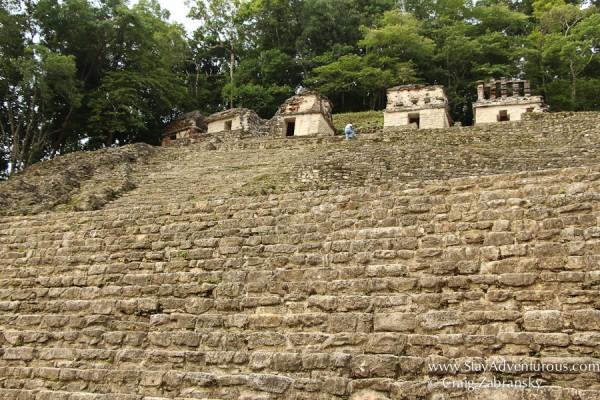 the the mayan ruins on Bonampak