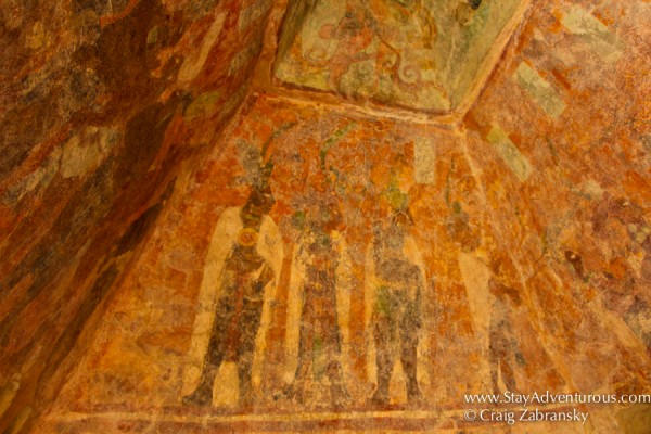 the mayan murals of Bonampak, the Bonampak Painting