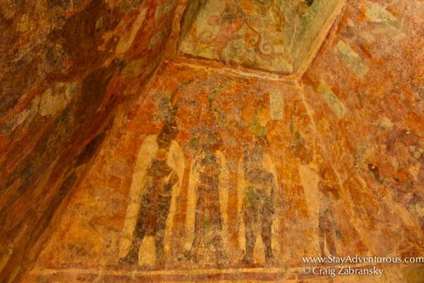 the mayan murals of Bonampak, the Bonampak Painting