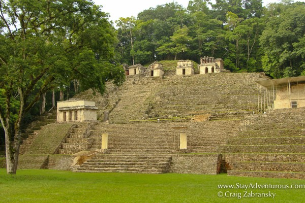 mayan ruins of bonampak in chiapas, mexico