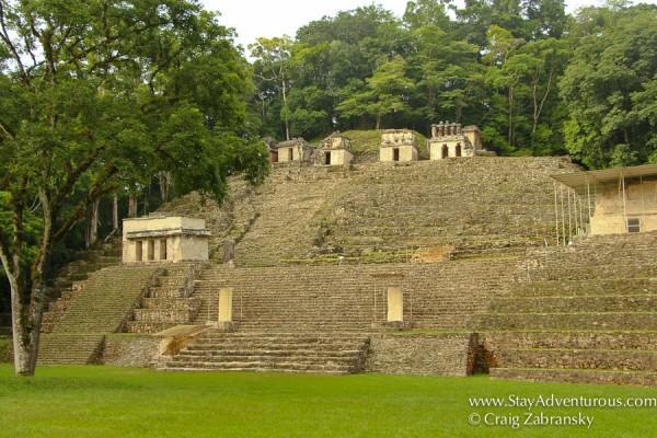 mayan ruins of bonampak in chiapas, mexico