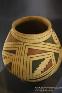 Mata Ortiz pottery, the fmaous clay pottery found at the Paquime site