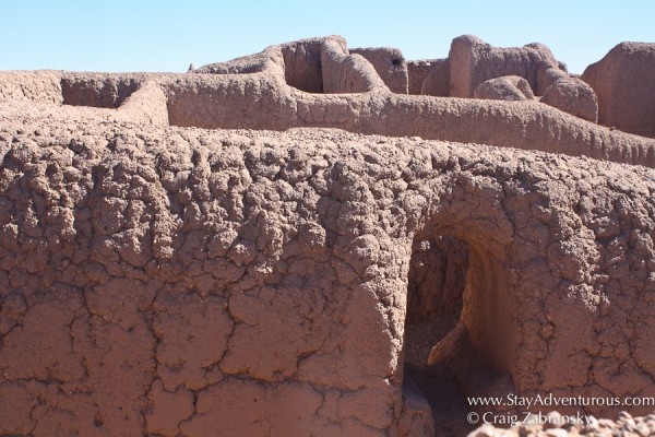 the Pueblo Ruins at Paquime, a UNESCO Heritage site located outside of Casas Grandes in Chihuahua, Mexico