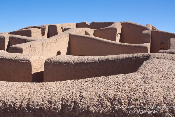 the ruins of Paquime, a Pueblo site located in Chihuahua, Mexico, and is a UNESCO Heritage Site