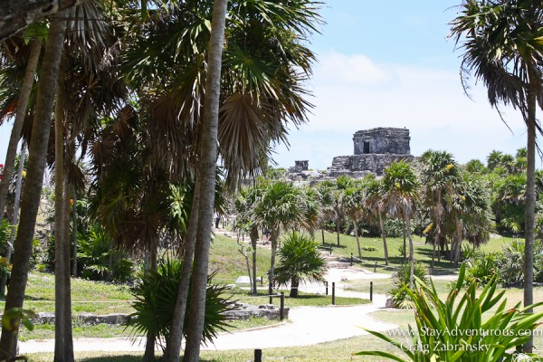 walking the ruins of Tulum