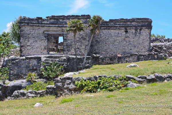 ruins of Tulum in the Riviera Maya of Mexico