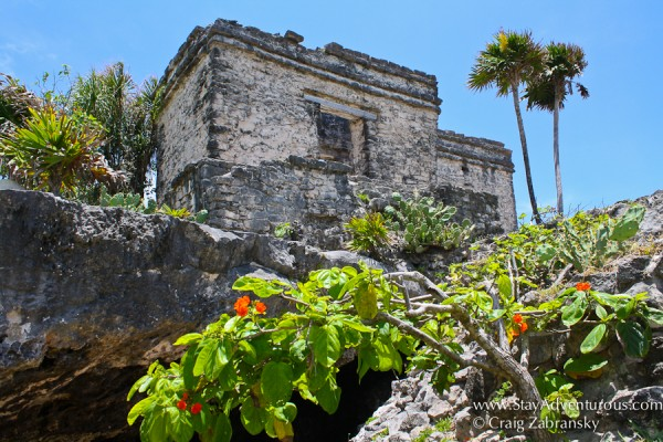 the mayan ruins of tulum in q roo, mexico