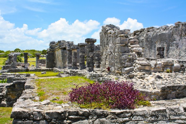the mayan ruins of Tulum in the Riviera Maya of Mexico.