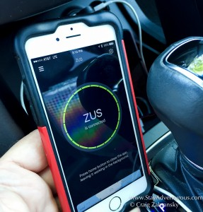 ZUS Car Charger App - Connected
