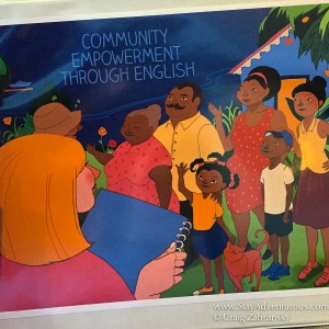 the entrena made community english materials