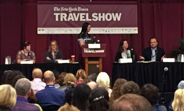 NY Times Travel Show panel on Going Solo, Solo Travel