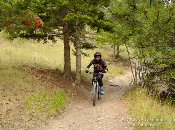 Mountain Biking Montana in Mount Helena City Park