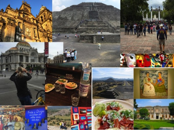 Photos taken on my tours to Mexico City