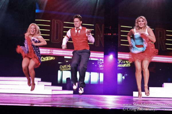 dancing with the stars on Hollan America Lines