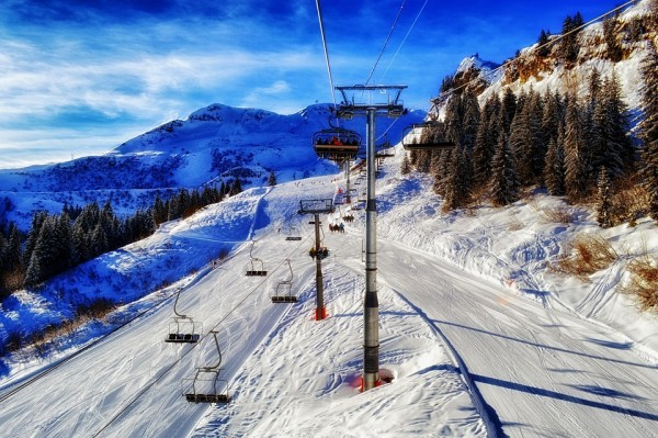 Whistler Ski Resort in Britisih Columbia, Canada