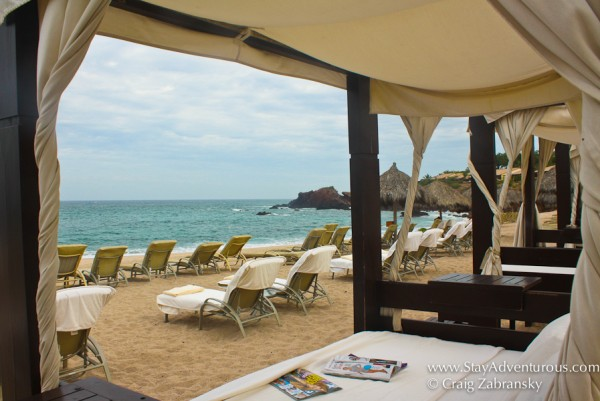 the four seasons Punta mita Resort and Spa in the Riviera Nayarit of Mexico