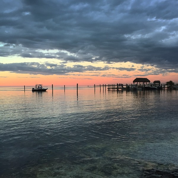 the sunset in islamorada, florida, a classic Florida Keys Sunset