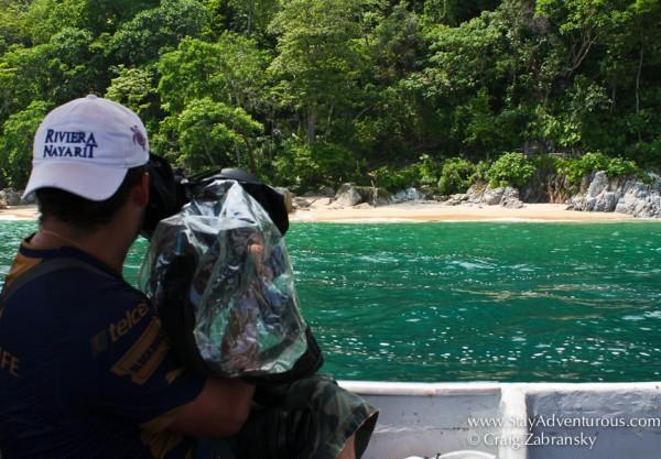 filming my travels through the riviera nayarit