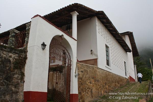walking the streets of san sebastian del oeste in near puerto vallarta, jalisco, mexico