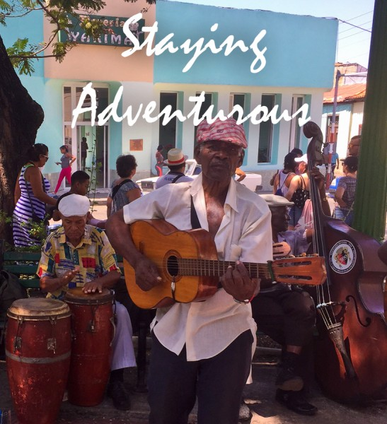 music in the parque and plazas of Santiago de Cuba