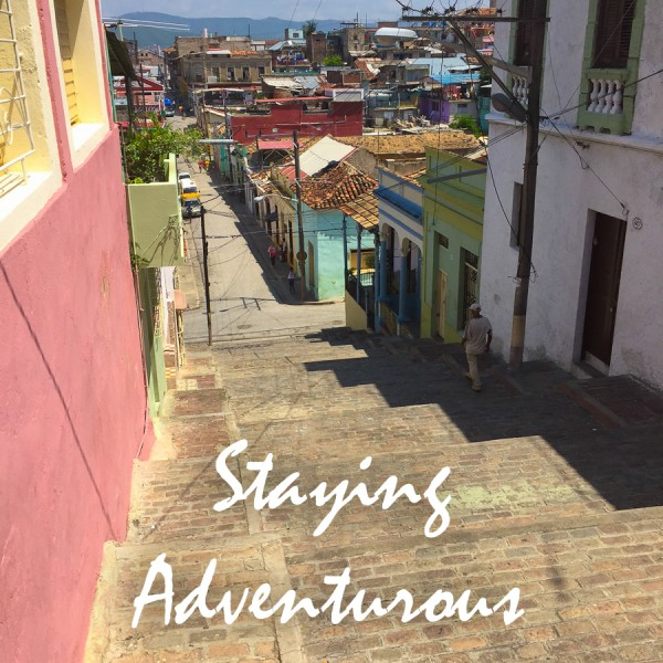 Pico Padre Steps in Santiago de Cuba