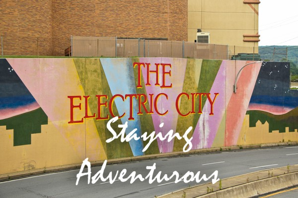 the Electric City, Scranton, Lackawanna County, Pennslyvania