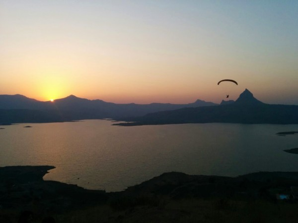 sunset in Kamshet, Maharashtra, India via Ankit Jaini