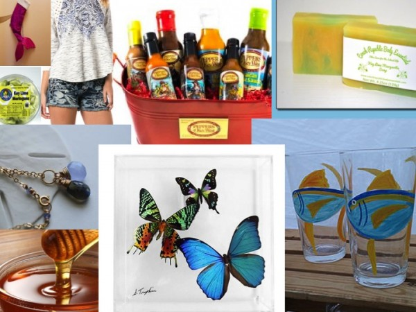 holiday gift ideas found in the florida keys