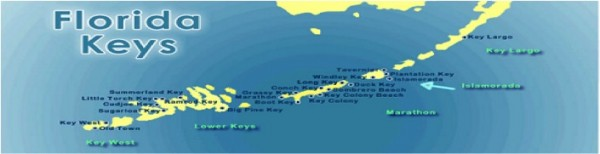 florida keys map