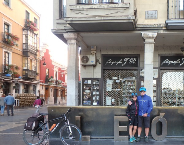 New Wales Cycle Club in Spain