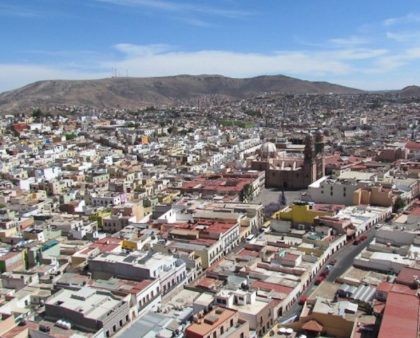Photo of Zacatecas Mexico from the Teleferico