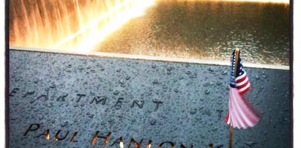 My 9/11 Memorial Cobblestone