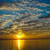 Sunset Sunday – The Mighty Brahmaputra River in Assam, India