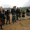 Getting Photographed in my Kilt on the beach, Isle of Arran, Scotland