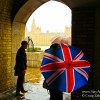 Postcard-The Union Jack Umbrella Still Reigns in London
