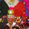 Celebrating Our Arrival to San Martin Talcajete, Oaxaca in Full Headdress
